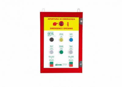 Centralina per sistemi di smaltimento fumo e calore